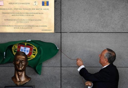 L'aéroport de Madère porte désormais le nom de Cristiano Ronaldo -