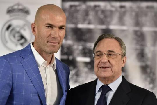 Zidane y Florentino - Futbol Sapiens - futbolsapiens.com