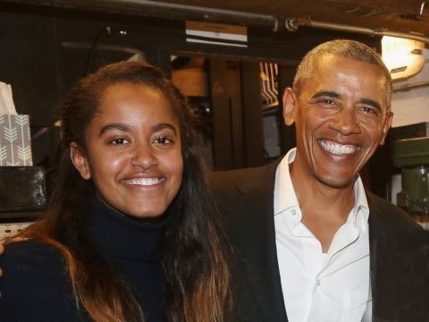 Barack Obama and daughter Malia attend 'The Price' on Broadway ... - go.com