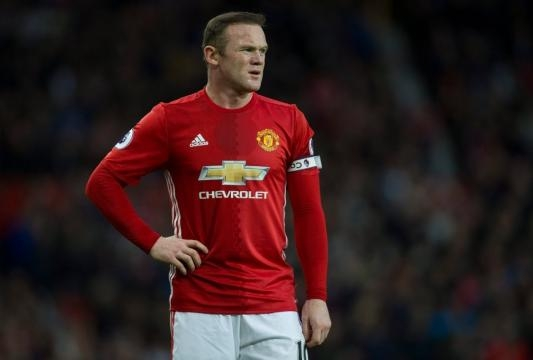 Rooney wearing the armband has actually become a rarity for the United captain this season