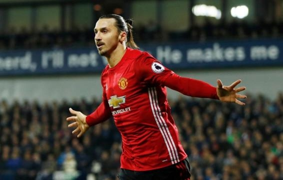 Sharpshooter: Ibrahimovic has 26 goals in 38 games this season