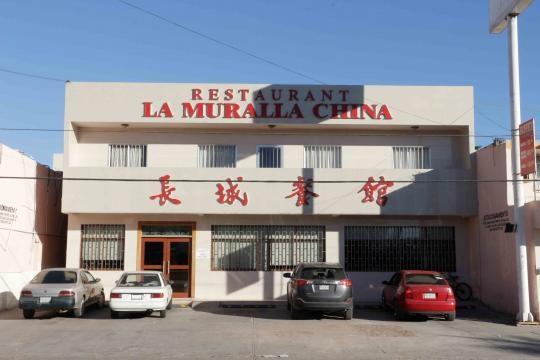 Uno de cientos restaurantes de comida China.