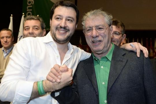 """SOLITA LEGA / Bossi: """"Salvini ha perso al Sud perché là ... - identitainsorgenti.com"""