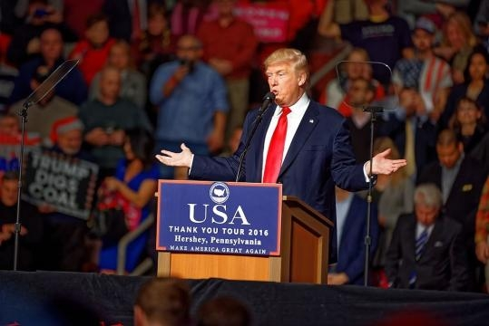 President Donald Trump, alternative facts, and the future of his presidency / Michael Vadon, Wikimedia Commons CC BY-SA 4.0