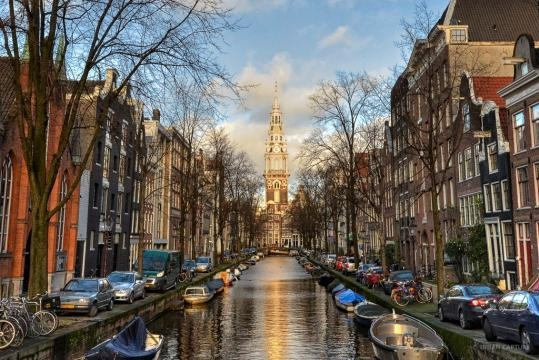 VIEW OF AMSTERDAM - THE NETHERLANDS