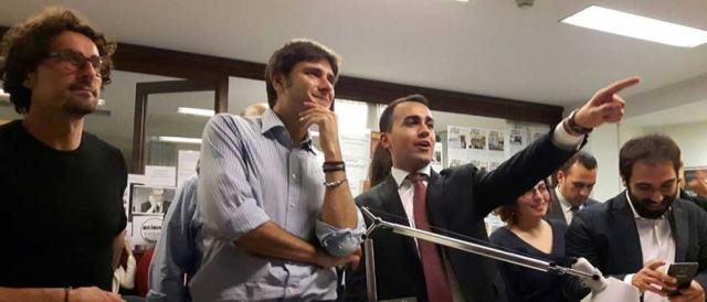 I due leader del M5S, Di Battista e Di Maio