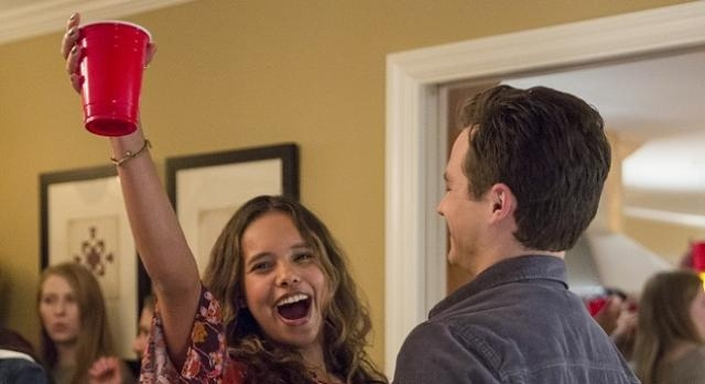 Alisha Boe and Brandon Flynn in '13 Reasons Why' | by Beth Dubber (Netflix.com) used with permission