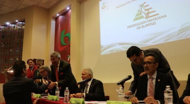 Con 35 votos a favor la Federación Mexicana de Surfing es reconocida por la CODEME