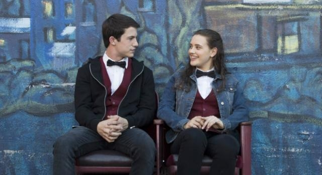 Dylan Minnette & Katherine Langford in '13 Reasons Why' | by Beth Dubber (Netflix.com) used with permission