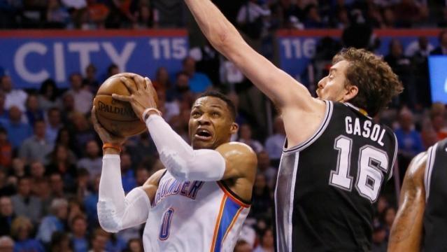 Leonard scores 27, Spurs rally to top Thunder 100-95 | KOKH - okcfox.com