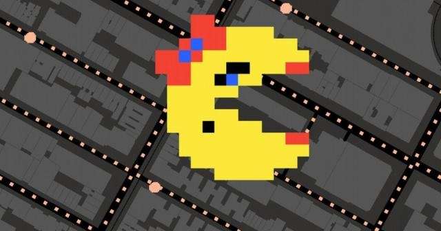 Play 'Ms. Pac Man' on Google Maps Indianapolis Star - News JS - newsjs.com