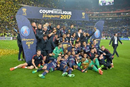 PSG quadruple champion de la Coupe de la Ligue.