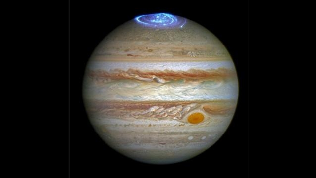 Scientists discover the 'Great Cold Spot' on Jupiter in upper ... - thestar.com