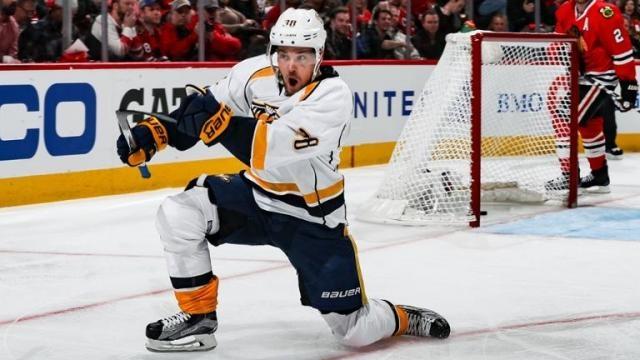 Arvidsson pudo marcar el gol de la victoria. NHL.com