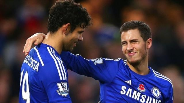 Diego Costa and Eden Hazard Fit to Face Arsenal on Sunday - SIGNAL - signalng.com