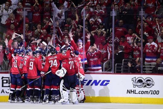 Los Caps esperan por fin poder llevar una Stanley Cup a Washington. NHL.com.