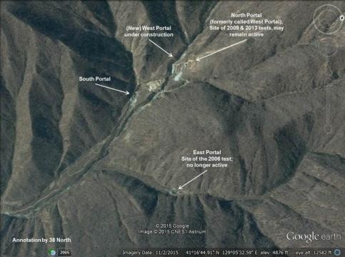 New Nuclear Test Tunnel Under Construction at North Korea's ... - 38north.org