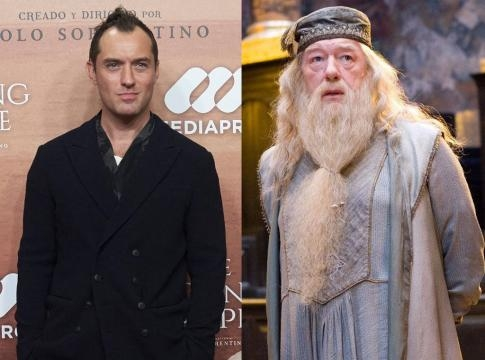 Oscar-Nominated actor Jude Law to play part of Younger Albus Dumbledore in upcoming Fantastic Beasts and Where to Find Them 2