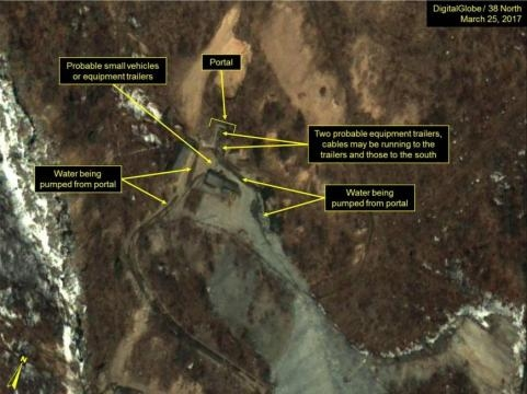 Satellite imagery shows North Korea may be in final stages of ... - japantimes.co.jp