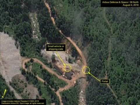 Satellite photos show continued activity at N. Korean test site