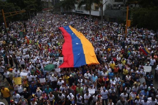 Comienzan marchas en Venezuela - Pulzo.com - pulzo.com