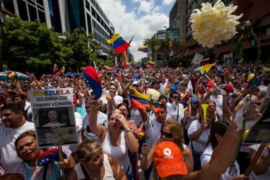 Portales de todo el mundo hicieron eco de las marchas pacíficas en ... - com.ve