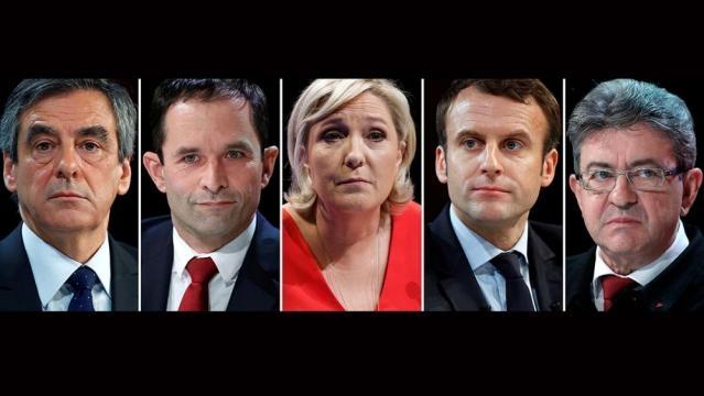 Francia: Le Pen y Macron quedarían codo a codo en la primera ... - euronews.com
