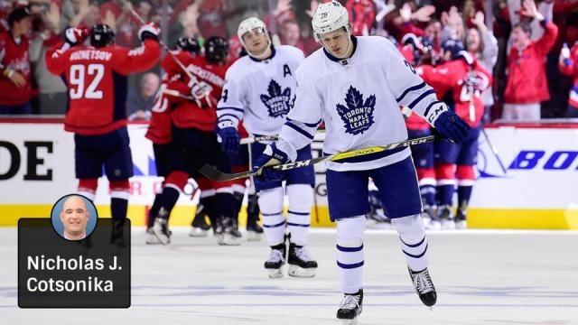 Kapanen tuvo dos goles de los 4 de los Leafs. NHL.com.