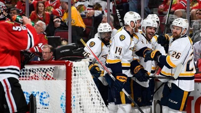 Los Predators de Nashville quieren vengarse de la derrota en playoffs de hace dos años contra Chicago. NHL.com.