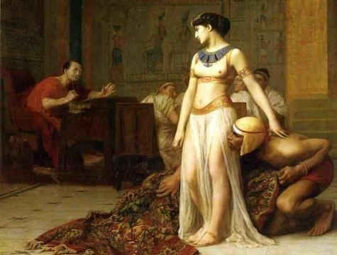 Cleópatra, a famosa rainha grega do Egito