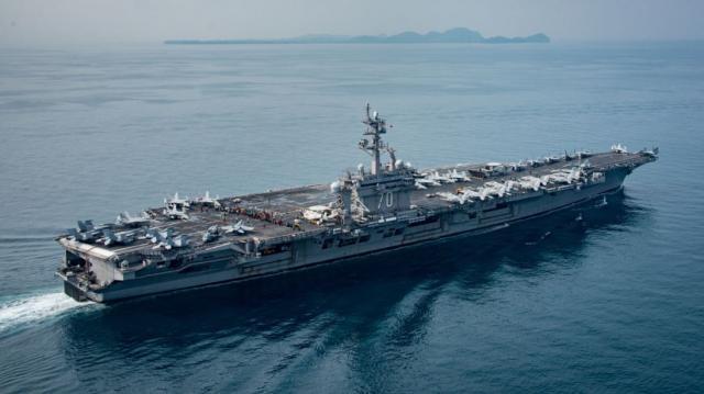 Donald Trump's armada finally heading towards the Korean peninsula
