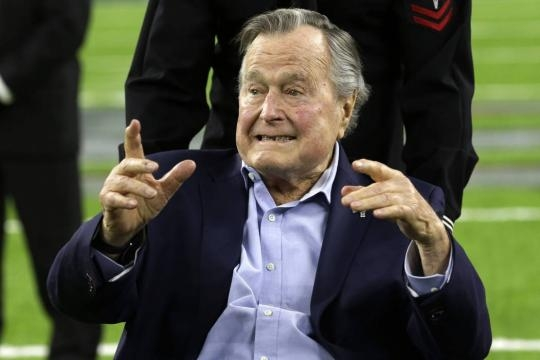 George H. W. Bush hospitalized again with pneumonia – Las Vegas ... - reviewjournal.com