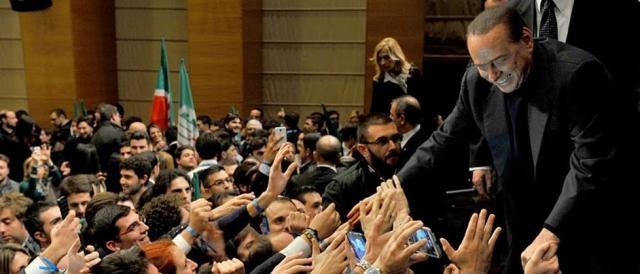 Il capo di Forza Italia, Silvio Berlusconi