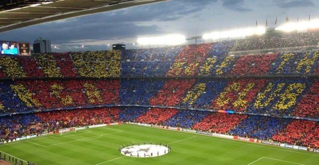La coreografia del Camp Nou,