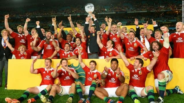 The Lions were victorious over Australia in 2013, can they do it again over the All Blacks? (via - cnn.com)