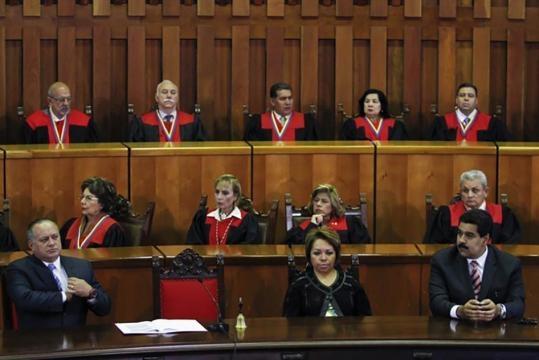 Venezuelan Supreme Court sides with President Nicolas Maduro / Photo by umwblogs.org via Blasting News library
