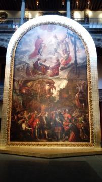 Villalpabdo Moises y la serpiente de bronce y la Transfiguración de Jesús