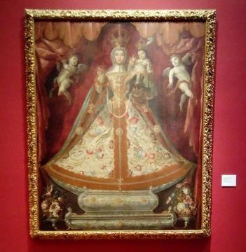 Virgen Cristobal de Villalpando CDMX Palacio de Iturbide