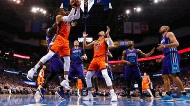 Westbrook records 40th triple-double in loss to Hornets | KTUL - ktul.com
