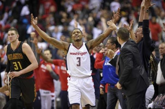 Beal, Wall score 20 of last 21 for Wiz to beat Hawks 109-101 - The ... - theintelligencer.com