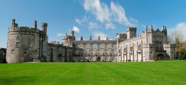 Kilkenny Castle y sus jardines ornamentales