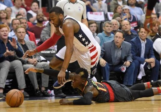 NBA: Beal, Wall lead Wizards past Hawks 109-101 for 2-0 series ... - sltrib.com