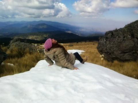¿Alguna vez jugaste en la nieve? Recomendadísimo, una de las experiencias más divertidas.