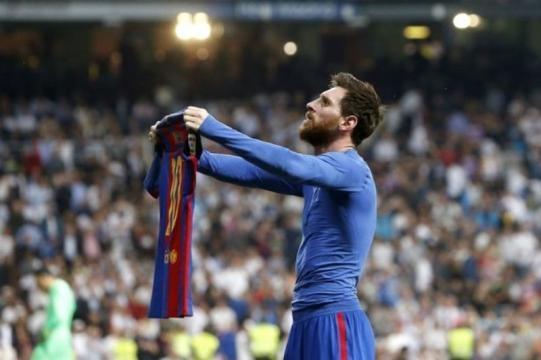 Messi fier de son exploit lors du classico