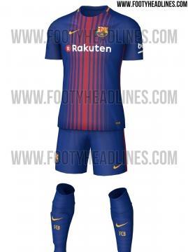 nouveau maillot barça sur le site footyheadlines. maillot complet