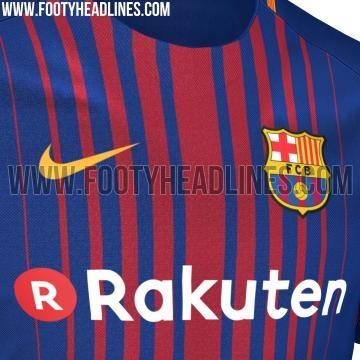 nouveau maillot barça sur le site footyheadlines.