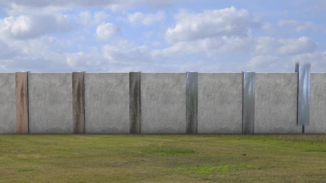 Trump's wall vs the Great Wall of China - CNNPolitics.com / Photo by cnn.com via Blasting News library