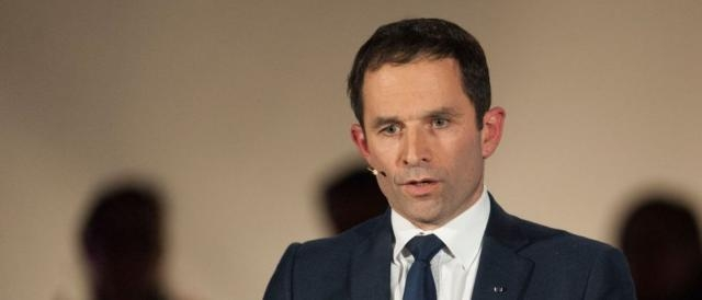 Benoit Hamon, candidato del Partito Socialista