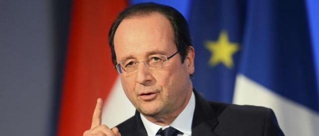 Il presidente uscente, Francois Hollande