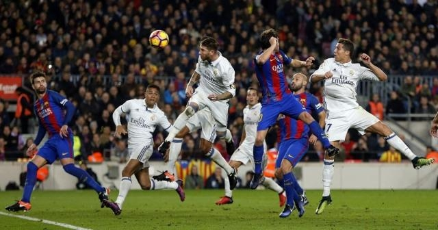 Real Madrid - FC Barcelona 2-3 (photo via mirror.co.uk)